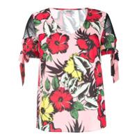 Liu Jo Blusa Com Estampa Floral - Rosa