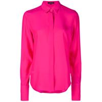 Barbara Bui Camisa Com Fechamento Oculto - Rosa
