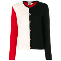 Fausto Puglisi Cardigan Color Block - Estampado