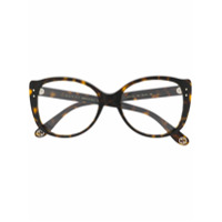 Gucci Eyewear Armação De Óculos Redonda - Marrom