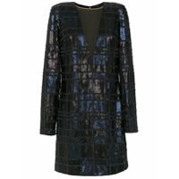 Tufi Duek Vestido Curto De Paetê - Azul