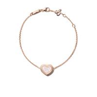 Chopard Pulseira 'happy Diamonds Icons' De Ouro Rosê 18K Com Diamantes - Unavailable