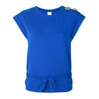 Pinko Camiseta 'intervallarega' - Azul