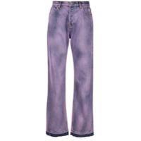 Msgm Calça Jeans - Roxo