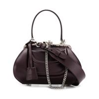 Moschino Tootsie Shoulder Bag - Roxo