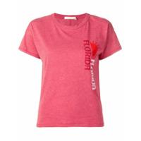Rag & Bone Florida Print T-Shirt - Vermelho