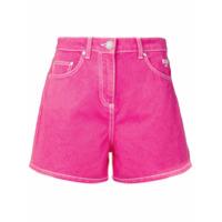 Msgm Short Jeans - Rosa