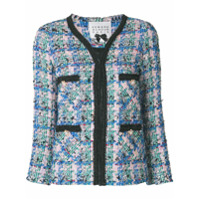 Edward Achour Paris Jaqueta De Tweed - Estampado