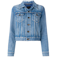 Saint Laurent Classic Denim Jacket - Azul