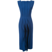 Jason Wu Collection Vestido Midi 'cady' - Azul