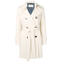 Circolo 1901 Double Breasted Trench Coat - Neutro