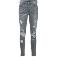 Amiri Calça Jeans Skinny - Cinza