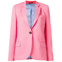 Ps Paul Smith Blazer Liso - Rosa