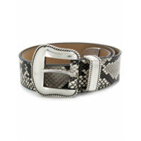 B-Low The Belt Cinto Villain Python - Neutro