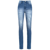 Amapô Calça Jeans Cintura Alta 'bari' - Azul