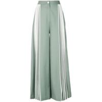 Bodice Studio Calça Pantalona Com Pregas - Verde