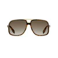 Marc Jacobs Eyewear Óculos De Sol Aviador Oversized - Marrom