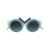 Fakbyfak Óculos De Sol 'fakbyfak X Riakeburia 03_03_01' - Estampado