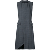 Rokh Vestido Estampado - Cinza