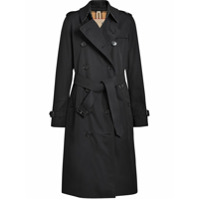 Burberry Trench Coat The Long Kensington Heritage - Preto