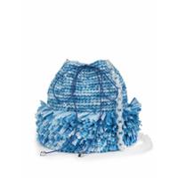 Carolina Santo Domingo Bolsa Bucket Pequena Carolina - Azul