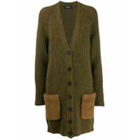 Rochas Buttoned Military Cardigan - Verde