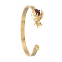 Olympiah Bracelete 'alverare' Com Aplicações - Dourado
