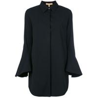 Michael Kors Collection Camisa Mangas Longas - Preto