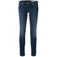 Diesel Calça Jeans Skinny Cintura Baixa - Azul
