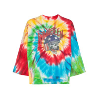 R13 Camiseta Venice Daredevil Tie-Dye - Tie Dye