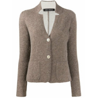 Iris Von Arnim Collar Cut-Out Cashmere Cardigan - Neutro