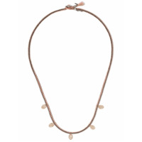 Brooke Gregson Colar Em Ouro Rosé 14K Com Diamantes - Pink