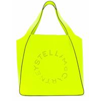Stella Mccartney Bolsa Tote Com Perfurações - Amarelo