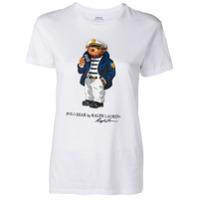 c1791c29133de Polo Ralph Lauren Camiseta com estampa - Branco
