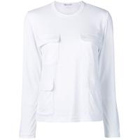 Comme Des Garçons Comme Des Garçons Camiseta Oversized Com Bolso - Branco
