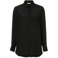Nina Ricci Camisa Com Bolso - Preto