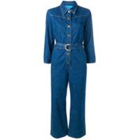 Mih Jeans Harper Denim Jumpsuit - Azul