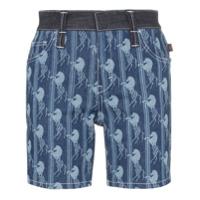 Chloé Bermuda Jeans Jacquard - Azul