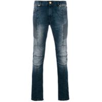 Pierre Balmain Calça Jeans Slim - Azul