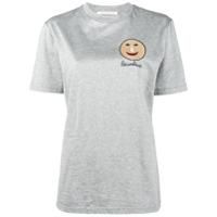Christopher Kane Camiseta Com Estampa 'gugging' - Cinza