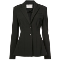 Jason Wu Collection Smocking Detail Jacket - Preto