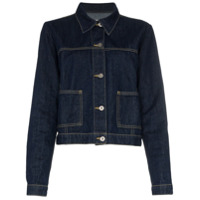 Eve Denim Classic Denim Jacket - Azul