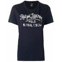 Polo Ralph Lauren Camiseta Com Estampa - Azul