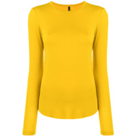 Pierantoniogaspari Suéter Decote Careca - Amarelo