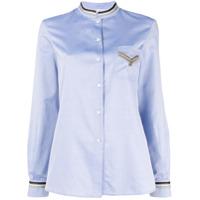 Gentry Portofino Camisa Mangas Longas - Azul