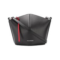 Alexander Mcqueen Trapeze Crossbody Bag - Preto