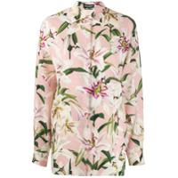 Dolce & Gabbana Floral Print Shirt - Rosa