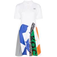 Converse Vestido Polo X Koché Com Patchwork - Branco