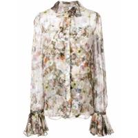 Adam Lippes Floral Print Shirt - Estampado