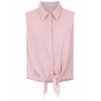 Olympiah Camisa Com Amarração - Neutro